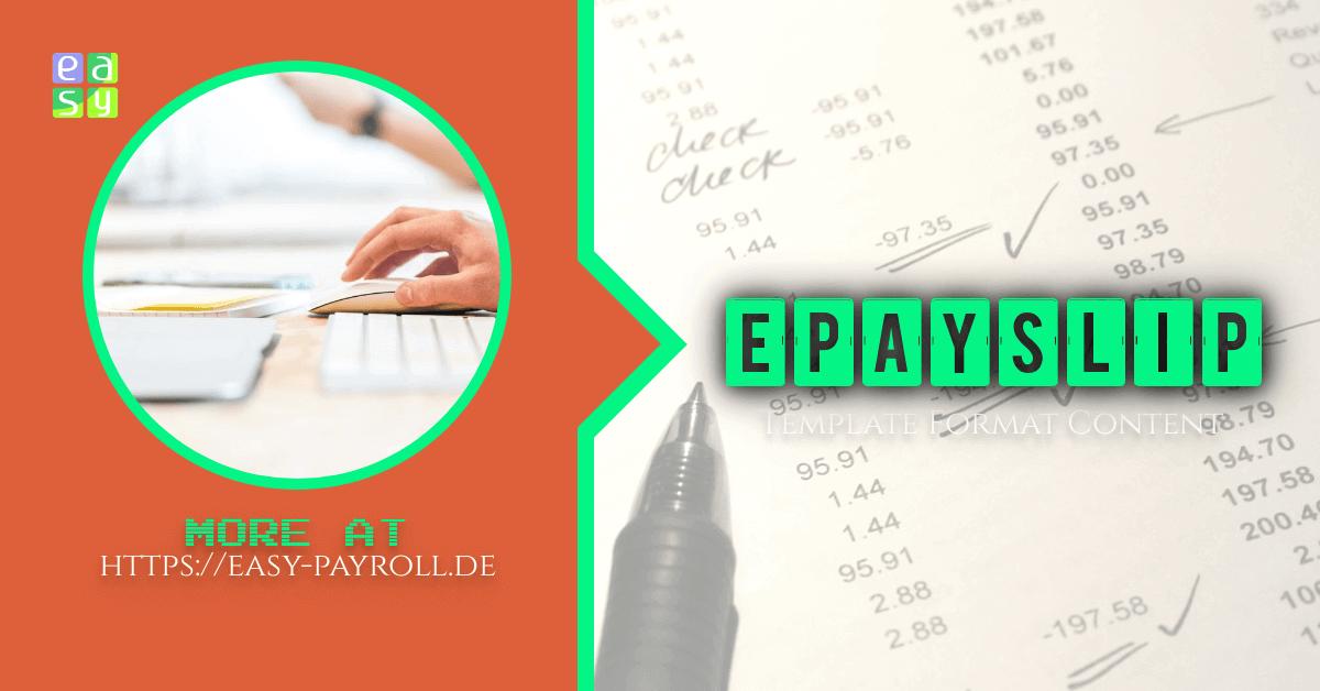 epayslip and payslip format